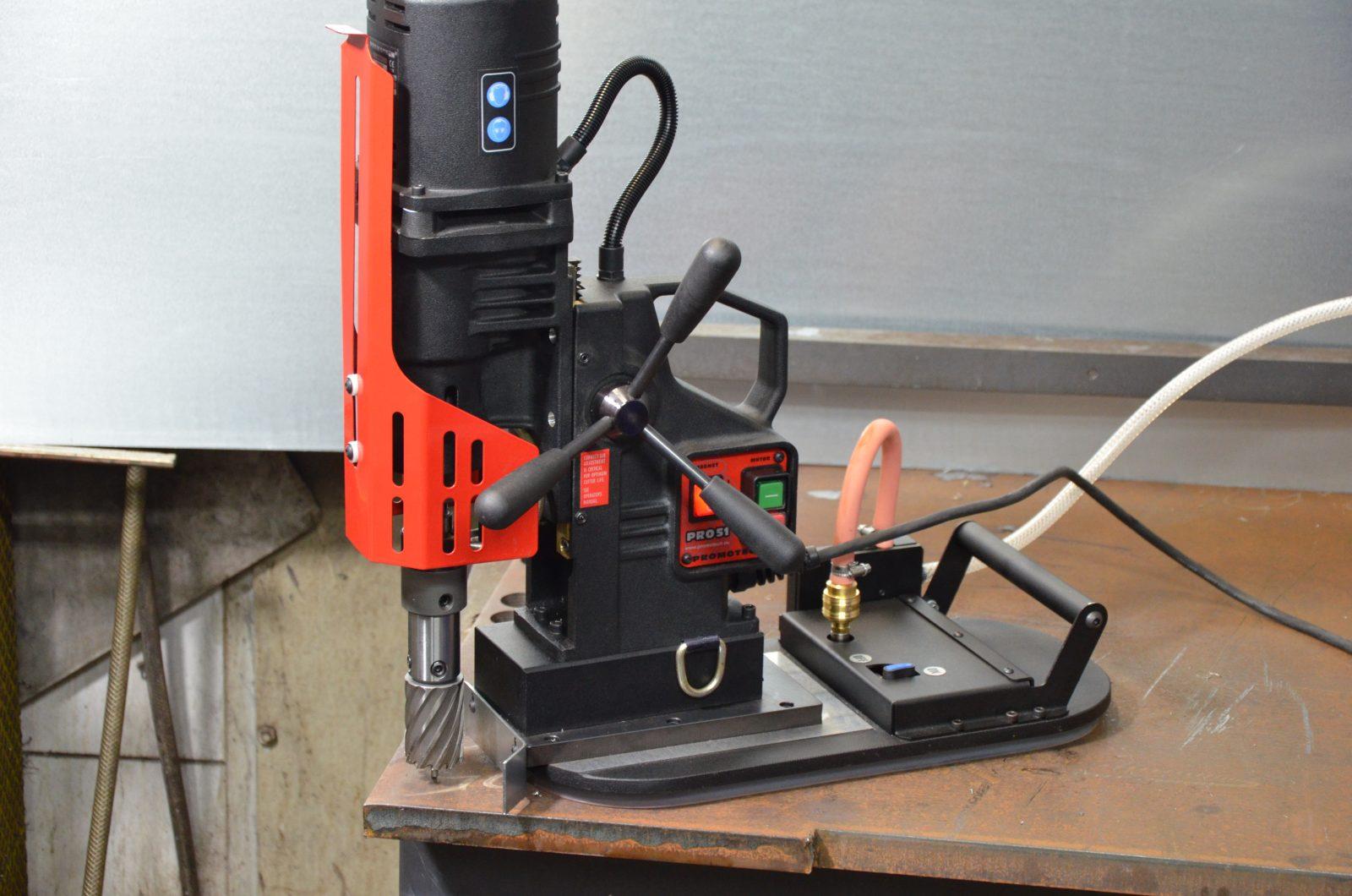 Vacuum Base for Mag Drills