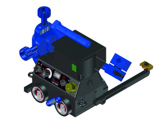 Steelmax Adds Battery Power to Li'l Runner Welding Carriage